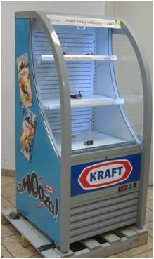 Supermarkst Open Air Chiller Refrigerator with Embraco Compressor pictures & photos