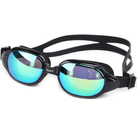 f532a7fb2e0 Unisex No Leaking Triathlon Swim Glasses for Adult Men Women Swimming  Goggles (mm-8700