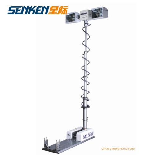 Portable Telescopic Light Tower: China Vehicle Mounted Telescopic Mast Light Tower