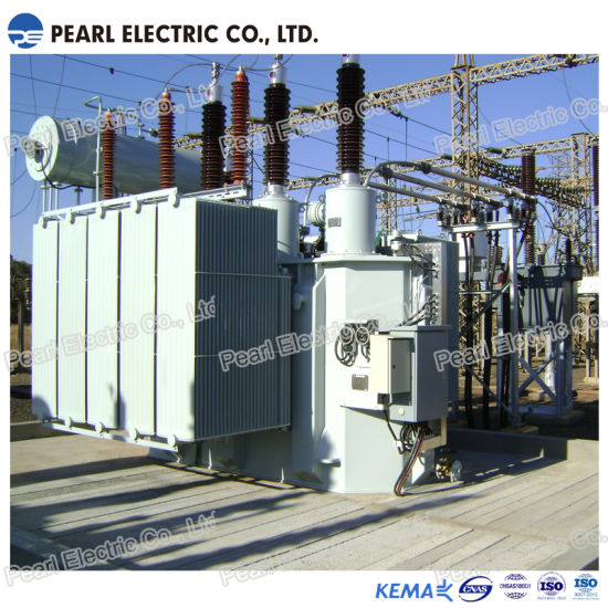 S11-6300~180000kVA (110KV) Two Windings Power Transformer with De-Energized Tap-Changer