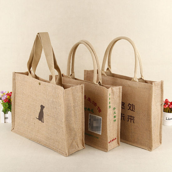Cotton Bag/ Gift Packing Bottle Bags/ Gunny Bag pictures & photos