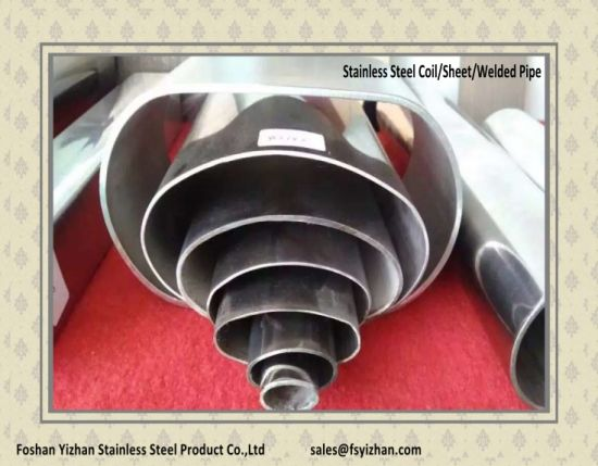 Stainless Steel Welded Special-Shaped Pipe pictures & photos