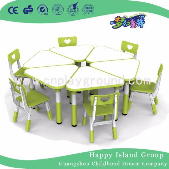 Children Furniture Kids Plastic Table Chair for Preschool (HF-05002)