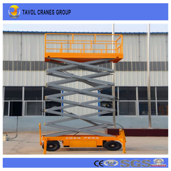 China Best Quality Genie Scissor Lift Table for Low Price - China