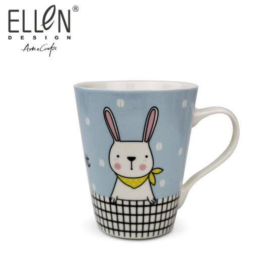 Promotional Gift Lovely Rabbit Ceramic Coffee Mug