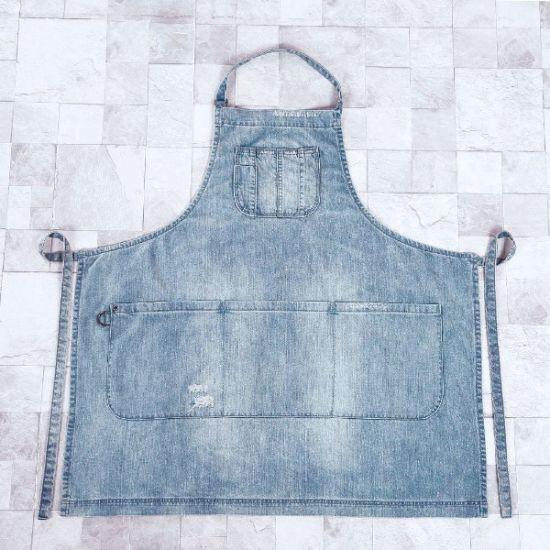 New Designer Cotton Washed Denim Workwear Apron Work Clothes (RS-170304)