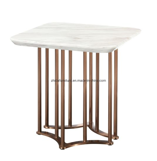 Square Marble Bedroom Coffee