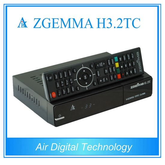 2017 New Hot Sale Zgemma H3.2tc Satellite/Cable Tuners Linux OS E2 DVB-S2+2xdvb-T2/C Dual Tuners pictures & photos