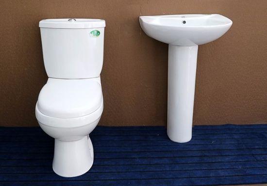 Bon 839 Economic Water Closet Wash Down Two Piece Ceramic Toilet