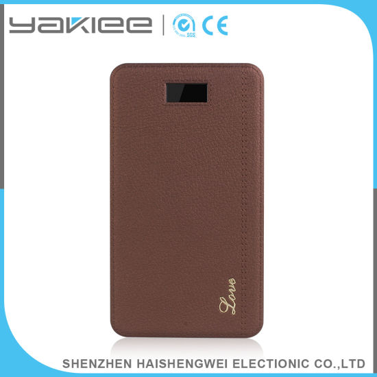 Customized Portable Emergency Mobile Power Bank Charger pictures & photos