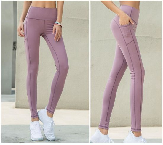 With Pocket New Styles Fitness Lady S Sport Yoga Pants Leggings For Women Wholesale China Gym Pants And Yoga Legging Price Made In China Com