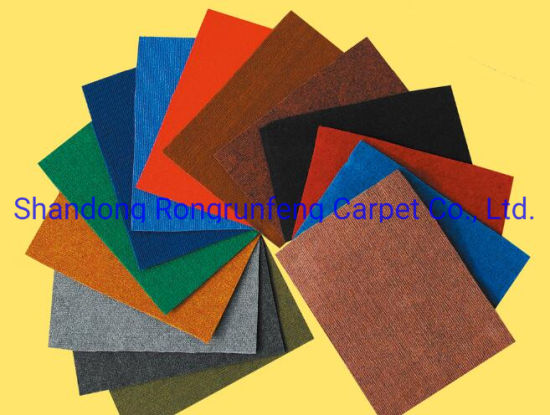 Needle Punched Stripe Ribbed Exhibition Carpet pictures & photos