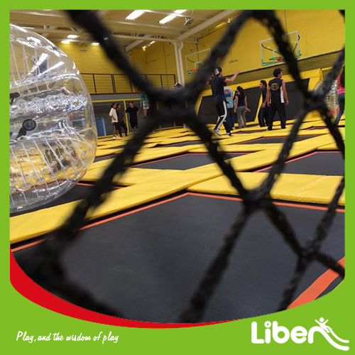 New Magic Indoor Trampoline Arena with Safety Enclosure Nets