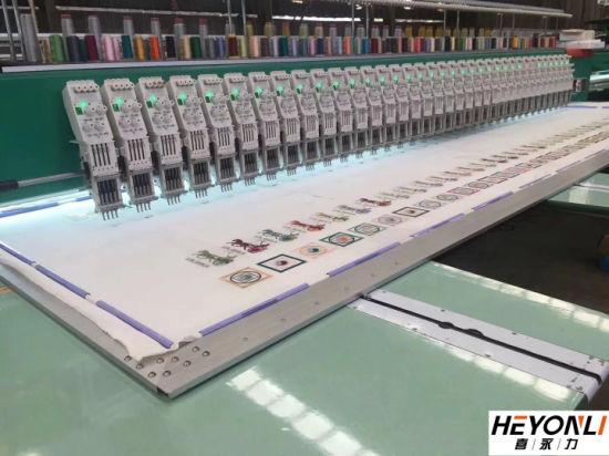 18 Head High Speed Computer Flat Embroidery Machine