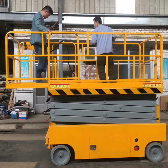 Good Quality Electric Mobile Scissor Lifts Platform/Auto Scissor Lifts