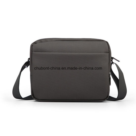 Chubont Waterproof Nylon Men′s Shouler Bag Message Bag Daily Use pictures & photos