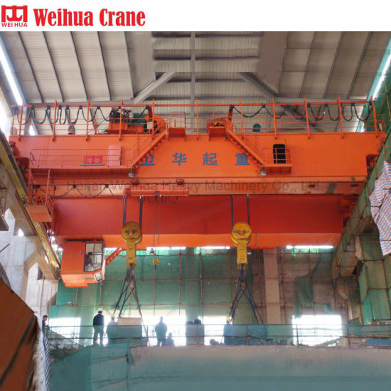Weihua Crane Qdy Type 25/5ton Mobile Workshop Double Girder Overhead Crane