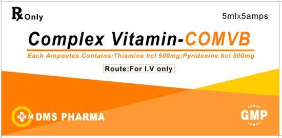 Human Medicine Comples Vitamin B Injection Vitamin B1 B6
