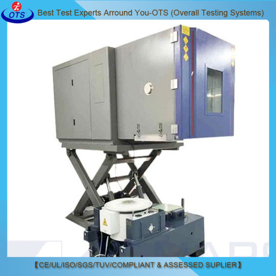 Electronics Environmental Vibration and Temperature Test Chamber on Lifting Table
