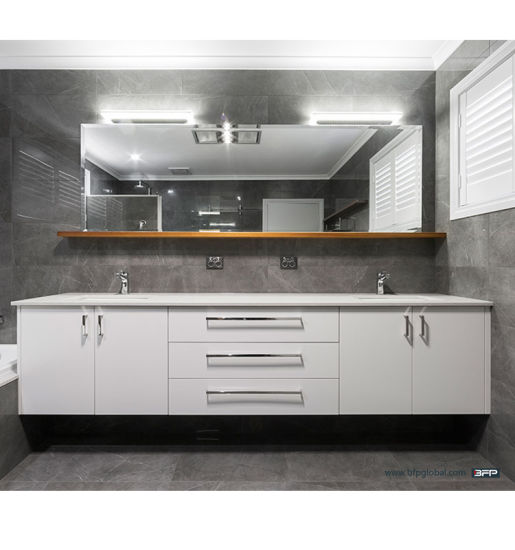 Customized Modern Lacquer Inexpensive Bathroom Vanities Bathroom Cabinet pictures & photos