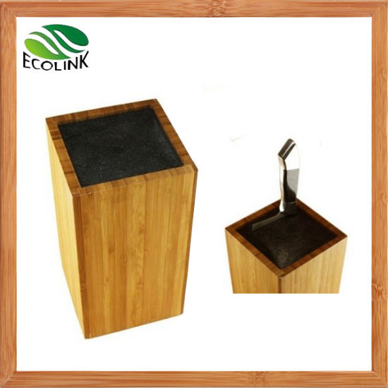 Bamboo Universal Cutlery Holder Knife Block pictures & photos