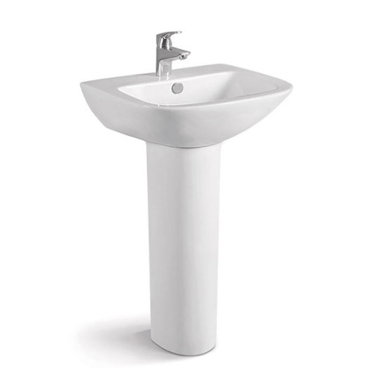 Wholesale Best Price European Design Unique Pedestal Sinks pictures & photos