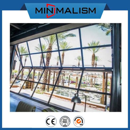 Aluminum Profile Folding Window up/Down Fold