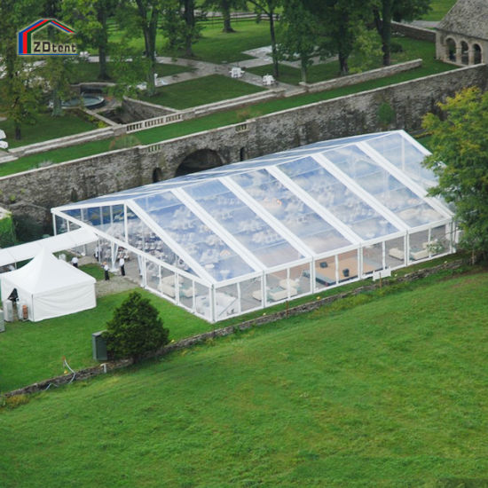 Large Transparent Waterproof Aluminum Structure Wedding Event Canopy Tent