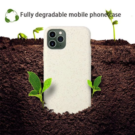 100% Bio-Degradable Mobile Case Eco Friendly Phone Cover Phone Case for iPhone 12 PRO