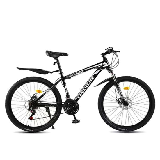 Folding 21 Speed Spoke Wheel Variable Speed Bicycle 24/26 Inch Adult Student Mountain Bike