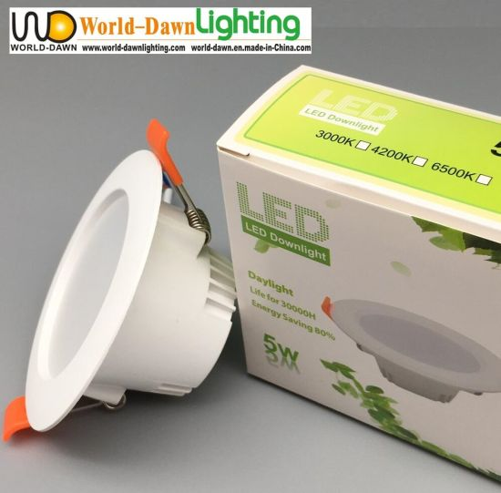 Hotsale 6W Panel Down Light Wholesale Cheap Price Recessed LED Ceiling Downlight with Customized Package pictures & photos