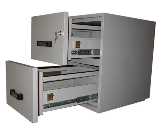 UL 2 Hours Fire Resistance Cabinet (FRD750-II-2001) , 2 Drawers Vertical Filing Cabinet