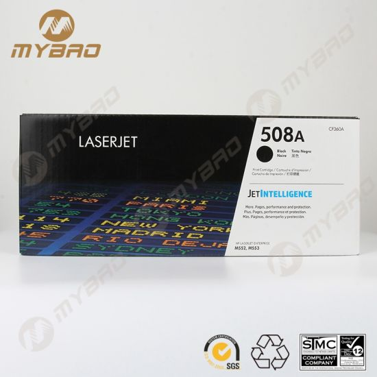 Factory Laserjet M577 508A Color Toner Cartridge for HP CF360A Series