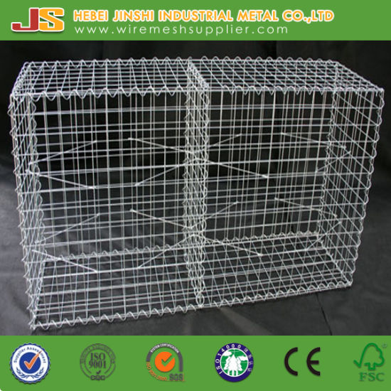100X100X30cm Hot Dipped Galvanized Welded Gabion Cage pictures & photos