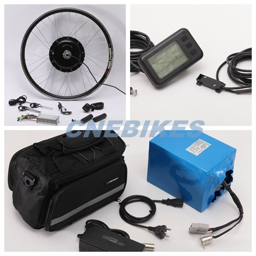 Hot Sale! 48V 1000W E Bike Kit with 48V 20ah Lithium Battery pictures & photos