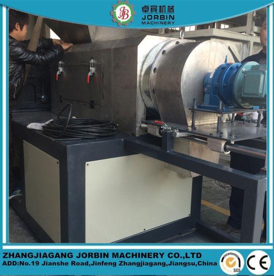 HDPE LDPE Film Squeeze Dryer Extruder Machine