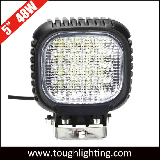 EMC-Approved 5inch 48W CREE Heavy Duty LED Working Lamps