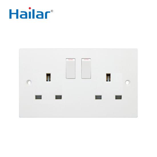 Wall Switched Socket (UK Standard)