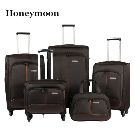 Nylon Soft OEM Design Luggage Set pictures & photos
