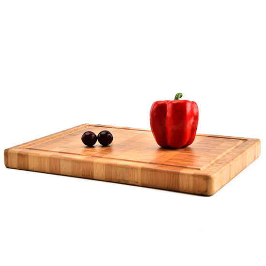 Custom Engraved End Grain Bamboo Eco-Friendly Bamboo Products Wholesale Board Kitchen Accessories