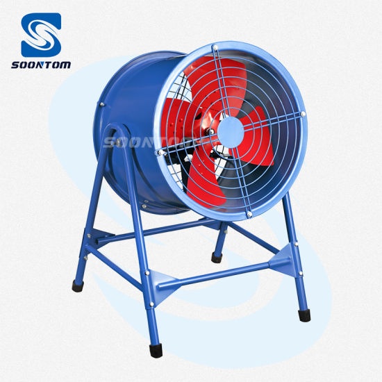 Post Type Bracket AC Industrial Duct Air Blower Axial Fan