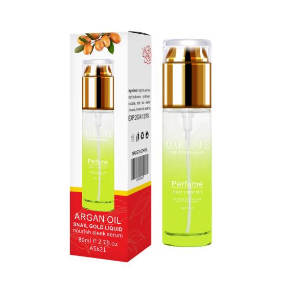 Private Label 100% Pure Moroccan Argan Oil Perfume Hair Oil