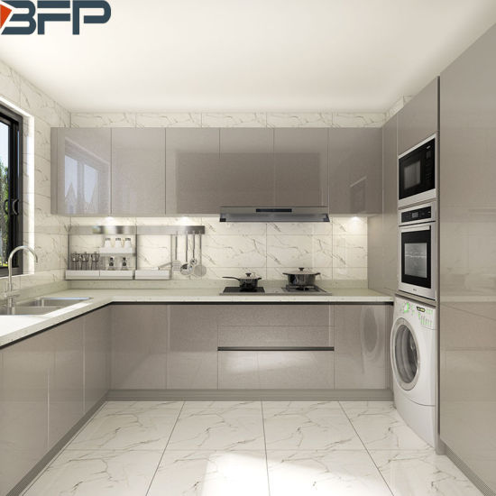 China Modern Design High End Kitchen Cabinets with Clean ...
