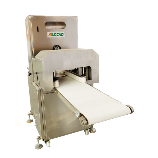 Electric Bakery Bread Cutting Hamburger Bread Slicer Machine Manufacturer pictures & photos