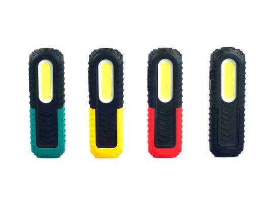 USB Foldable Rechargeable COB LED Inspection Flashlight