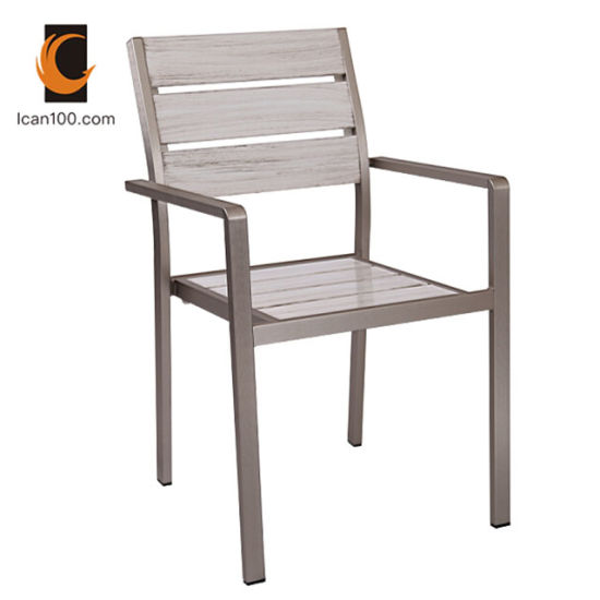 Amazing Water Proof Wholesales Outdoor Modern Industrial Welding Metal Aluminum Wooden Chairs Dining Chair Dc 15514 Unemploymentrelief Wooden Chair Designs For Living Room Unemploymentrelieforg