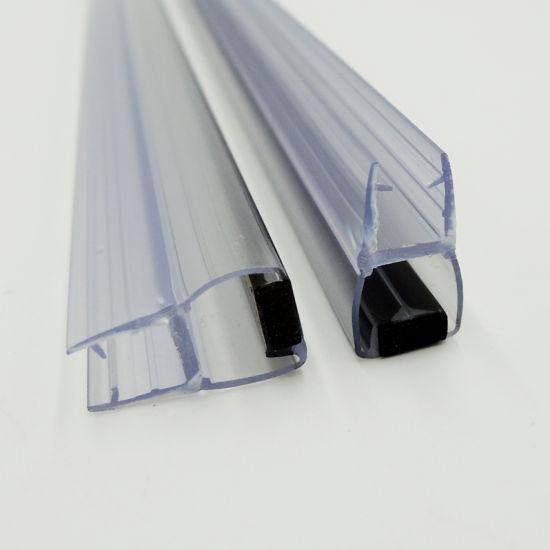 Bathroom Doors Waterproof: China Clear Bathroom Door Magnetic PVC Waterproof Seal