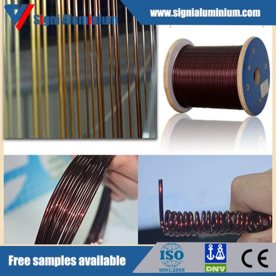 Enamelled/Fiber Glass Round/Flat/Square Aluminium Wire