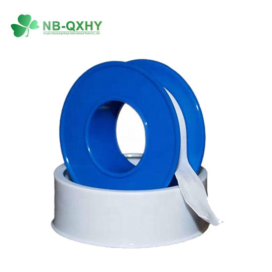 0.2mm Thickness Customized Teflon PTFE Tape Thread Seal Tape for Steam Gases and Fluids pictures & photos