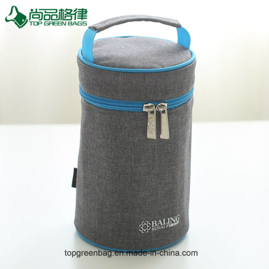 Oem Round Bottle Thermal Sleeve Tote Baby Cooler Bag